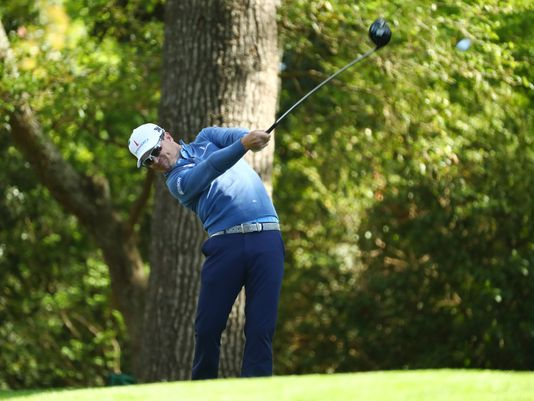 Iowan Zach Johnson among Masters leaders in opening round